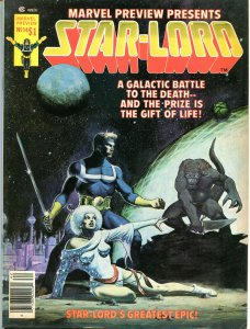 MARVEL PREVIEW #14, FN,  STAR-LORD, 1975, more Guardians of the Galaxy in store