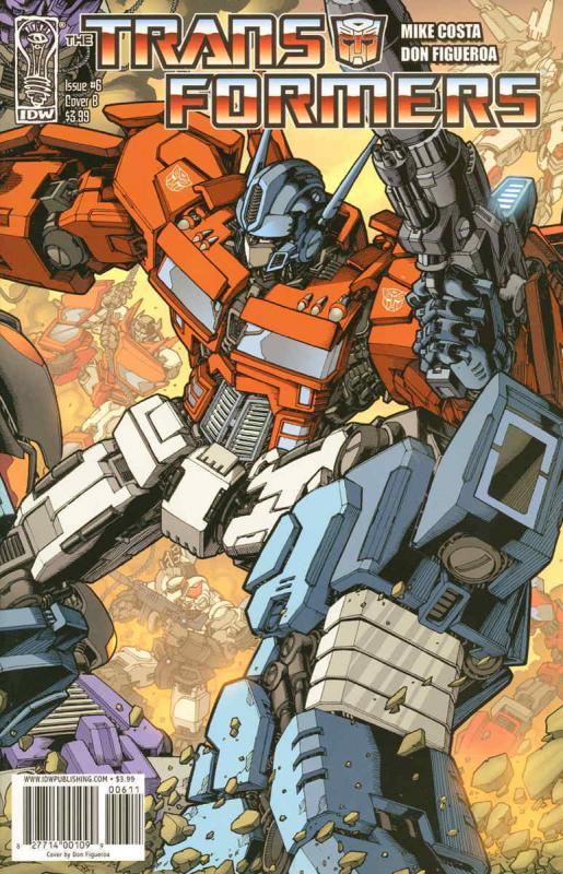 Transformers (IDW, 2nd Series), The #6B VF/NM; IDW | save on shipping - details