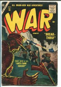 WAR #44 1952-ATLAS-JOE MAEELY-DICK AYERS-GENE COLAN-COMMIES-vg