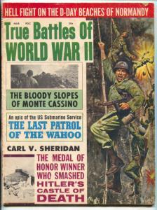 True Battles of World War II #4 March 1965-Hitler's Castle of Death