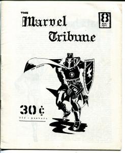 Marvel Tribune #8 1968-Ron Liberman-Black Knight cover-Stan Lee photo-VG