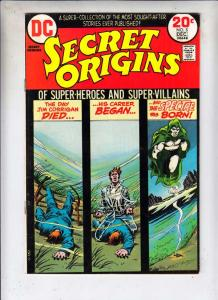 Secret Origins #5 (Dec-73) VF/NM High-Grade The Spectre