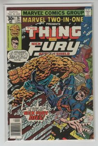 MARVEL TWO-IN-ONE (1974 MARVEL) #26 VF+ A97087