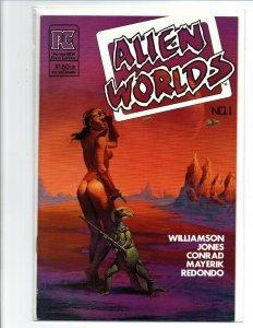 Alien Worlds #1 - Jones - Conrad - Redondo - PC - 1983 - (-Near Mint)