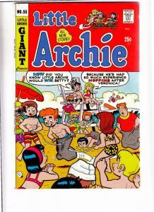 Little Archie #55 (Sep-69) VF High-Grade Little Archie, Little Veronica, Litt...