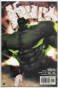 Incredible Hulk (vol. 2, 1999) # 36 VF/NM Bruce Jones/Romita Jr.
