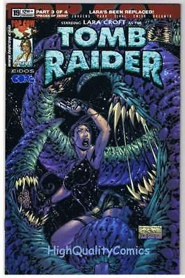 TOMB RAIDER #19, NM+, Lara Croft, Andy Park, 1999, more TR in store
