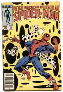 Spectacular Spider-Man #99 1985-  Mark Jewelers variant VG-