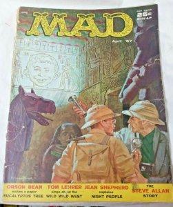 MAD MAGAZINE NUMBER 32 APRIL 1957 ORIGINAL EC COMIC JOE ORLANDO WALLY WOOD