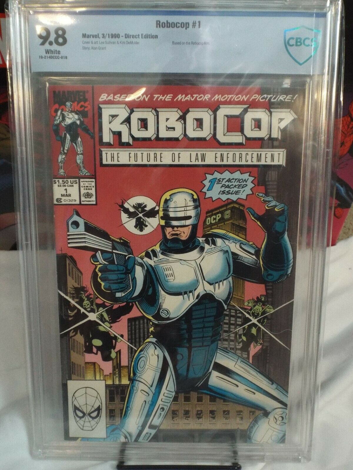 Robocop 2 Comic Book #1 1990 NEAR MINT