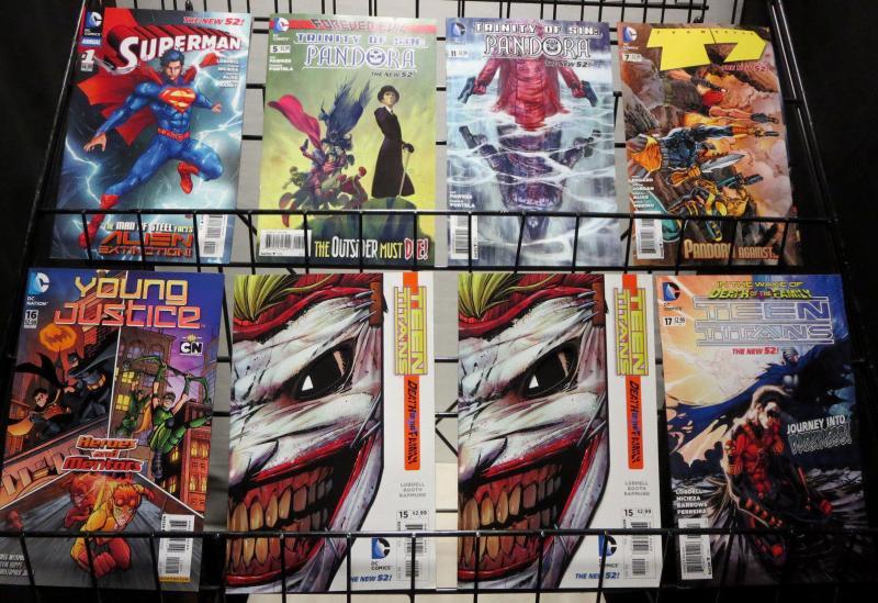 DC Comics New 52 Sampler Collection of 46 books 2011-2013 Batman Superman Joker