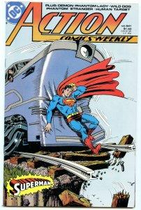 Action Comics Weekly 641 Mar 1989 NM- (9.2)