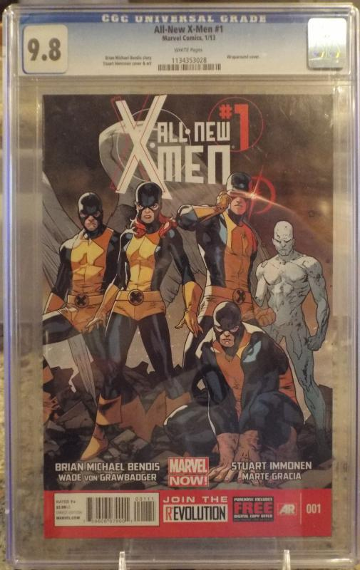 All-New X-Men #1 CGC 9.8