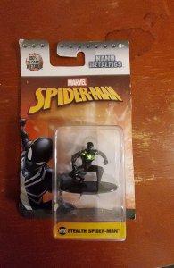Marvel Spider-Man nano metalfigs stealth Spider-Man