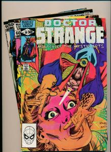LOT of 4 Comics!  Marvel DOCTOR STRANGE #50,51,52,56  FINE/VERY FINE (PF797)