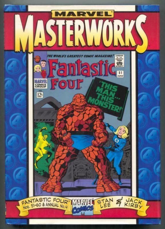Marvel Masterworks Fantastic Four #51-60 Ann#4 Hardcover