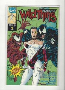 Wild Thing #1 Enbossed Cover Venom Carnage NM/M Marvel Comics UK