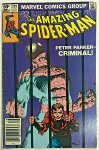 AMAZING SPIDER-MAN#219 FN 1981 MARVEL BRONZE AGE COMICS