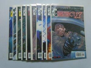 District X (2004) #1-10 Run - 8.0 VF - 2004
