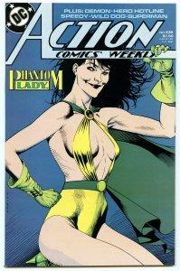 Action Comics Weekly 639 Feb 1989 NM- (9.2)