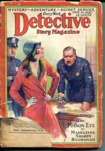 DETECTIVE STORY MAGAZINE-SEPT 15 1927-EDGAR WALLACE-APPLE-BUCHANAN-fair FR