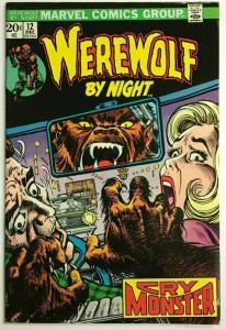 WEREWOLF BY NIGHT#12 VF 1973 MARVEL BRONZE AGE COMICS