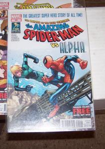 Amazing Spider-Man # 694  alpha + peter parker  high grade