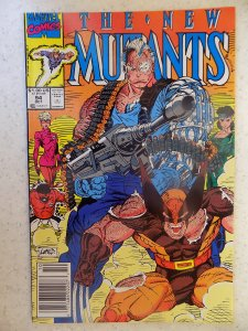 NEW MUTANTS # 94 LIEFELD HOT MOVIE