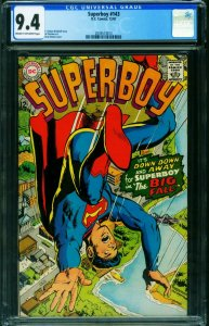SUPERBOY #143 CGC 9.4 1967-NEAL ADAMS SILVER AGE 2039573013