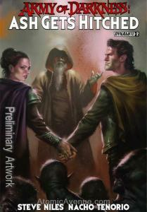 Army of Darkness: Ash Gets Hitched #2D VF; Dynamite   save on shipping - details