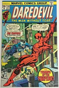DAREDEVIL#126 FN/VF 1975 MARVEL BRONZE AGE COMICS