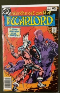 Warlord #25 (1979)