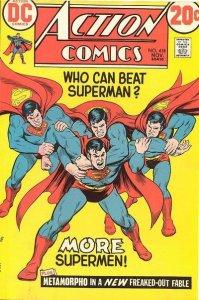 Action Comics #418 (ungraded) stock photo / ID#00E
