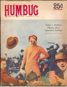 Humbug #10 1958-Harvey Kurtzman-Will Elder-Jack Davis-Sam Jaffee-VG