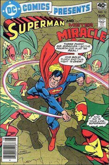 DC DC COMICS PRESENTS #12 FN