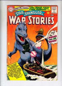 Star Spangled War Stories #123 (Nov-65) VG Affordable-Grade Dinosaur