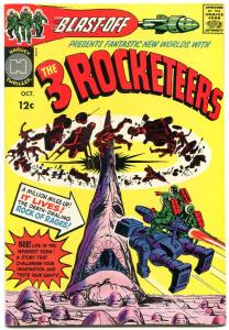 Blast Off #1 1965-Three Rocketeers-Simon & Kirby-HARVEY COMICS-high grade VF/NM
