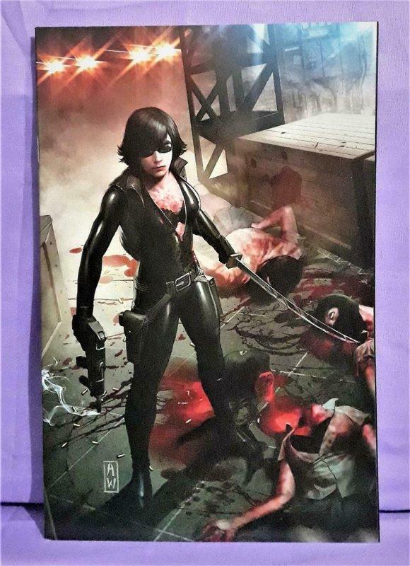 Al Ewing THE NINJETTES #1 - 2 Virgin Art Covers Eman Casallos (Dynamite, 2012)!