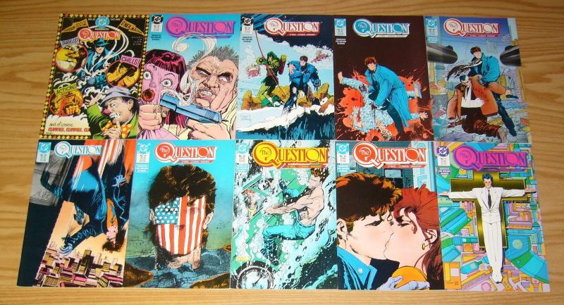 the Question #1-36 VF/NM complete series + (2) annuals + #37 - dc comics set 17