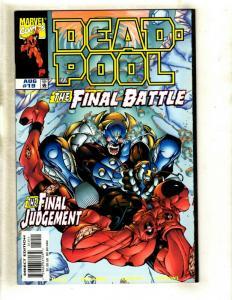Deadpool # 19 NM Marvel Comic Book X-Men X-Force Wolverine Cable Domino EK8