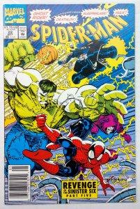 Spider-Man #22 (VF+, 1992) NEWSSTAND
