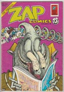 Zap #6 (Jan-73) VG Mid-High-Grade Mr. Natural, Flaky Foont, Star-Eyed Stella,...