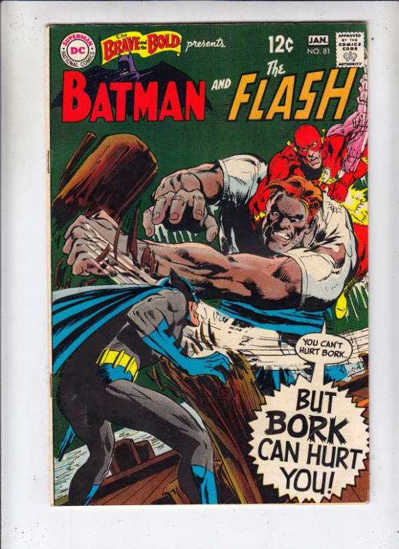 Brave and the Bold, The #81 (Jan-69) FN+ Mid-High-Grade Batman, the Flash