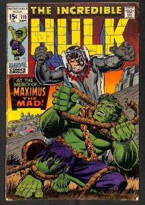 Incredible Hulk (1968) #119 VG- 3.5 Marvel Comics