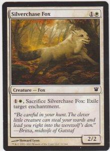 Magic the Gathering: Innistrad - Silverchase Fox