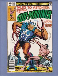 Tales To Astonish #12 NM- Namor Sub-Mariner Marvel 1980