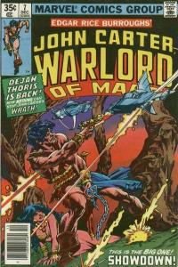 John Carter: Warlord of Mars (1977 series) #7, VF+ (Stock photo)
