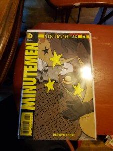 Before Watchmen: minuteman #4 (2012)
