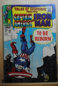 Tales of Suspense #96 (1967)  VG+ Classic Cover !!!
