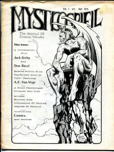 Mystcogryfil #2 1975-A&W-Kirby-Rico-Dave Stevens-Neal Adams-Scott Shaw-VG/FN